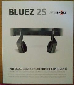 **SEALED** AFTERSHOCKZ BLUES 2S BRAND NEW HEADPHONES AND INCLUDES 1 YEAR MANUFACTURERS WARRANTY