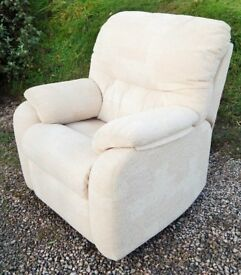 G Plan Electric fully reclining chair
