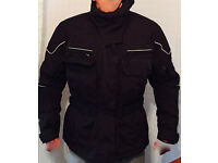 Advanced Experience Z-Liner Motorbike Jacket & Trousers. Black Size L (Ladies)