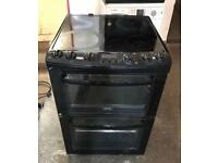 60CM ZANUSSI GLASS PLATE ELECTRIC COOKER EXCELLENT CONDITION, 4 MONTH WARRANTY