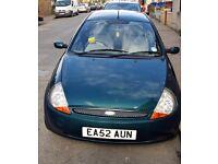 Ford KA 52 2002.MOT till 31.1.17 £650 ono. Leather interior. Radio/cd player. Alloy wheels.