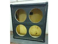 4x12 loudspeaker cabinet (empty)
