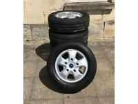 "Ford Transit Custom 16"" Alloys with Tyres"