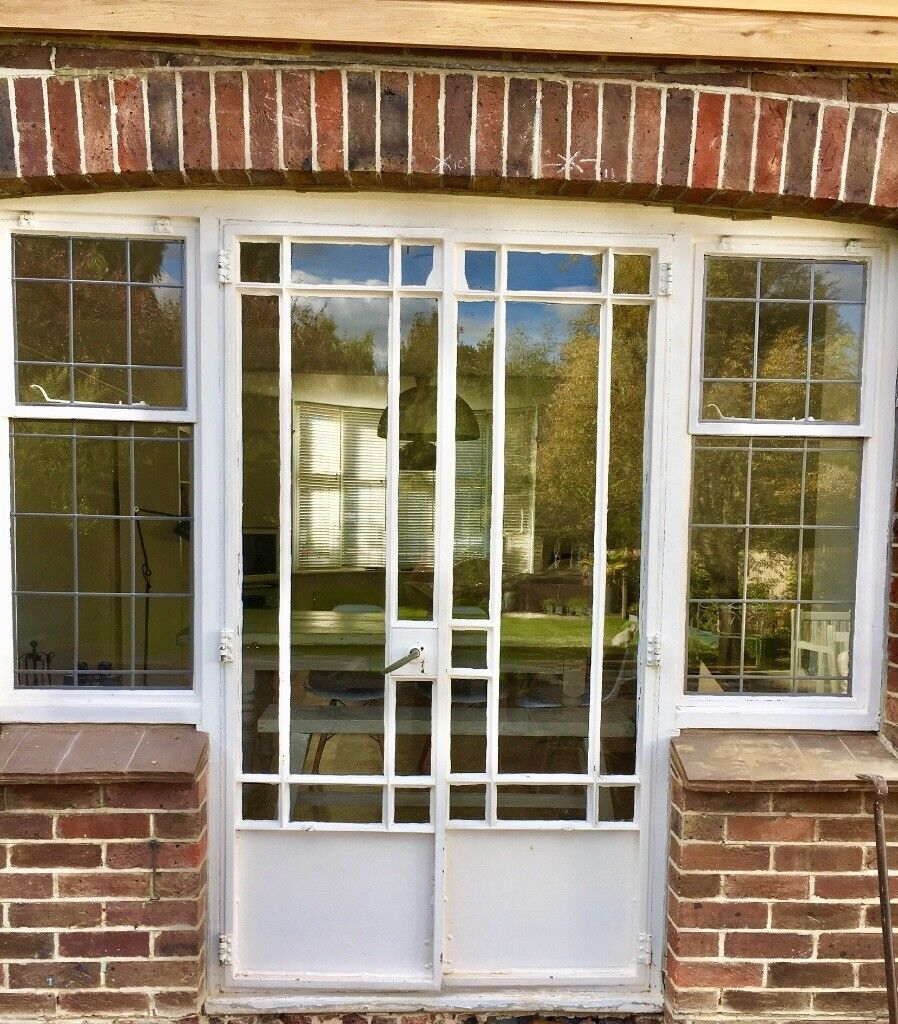 Original 1930s Crittall French Doors And Windows