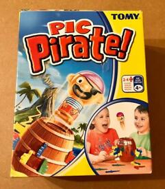 Tomy Pop Up Pirate Pic Pirate Children's Game. Complete And VGC.