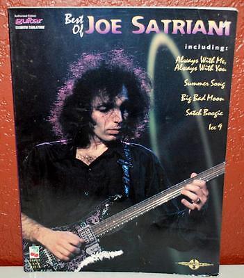 BEST OF JOE SATRIANI GUITAR TABLATURE SONG BOOK 1995 CHERRY LANE MUSIC ~120~