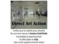 Direct Art Action are planning a huge exhibition.