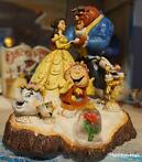 "BELLE & BEAST ""Tale as Old as Time"" H19cm JIM SHORE Actie!"
