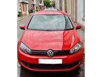 red VW Golf model 1.4 psi for sale