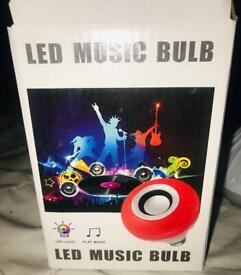 LED Light and Bluetooth Speaker brand new