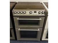 £180 Silver Hotpoint Cooker - 6 Months Warranty