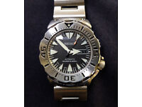 Seiko Black Monster Superior Automatic watch. Made in Japan.