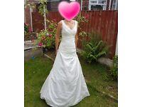 Ivory Wedding Dress size 8-10