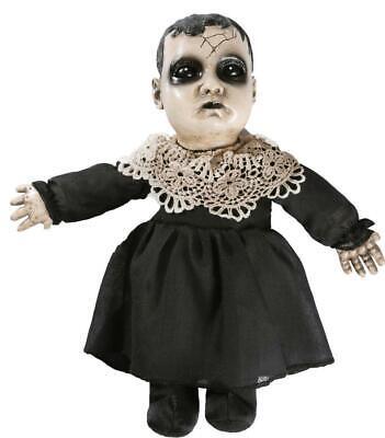 LITTLE PRECIOUS EVIL DOLL ANIMATED Halloween Prop Decoration HAUNTED HOUSE](Evil Doll Halloween)