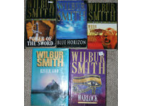 Wilbur Smith books