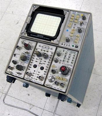 Tektronix 7633 Oscilloscope Wplug-ins 7a18n 7a12 7b53a