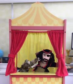 John Lewis Puppet Theatre & Puppets