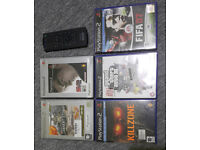 PS2 PlayStation 2 Games and Genuine Remote Control