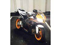 Honda cbr 600 rr limited edition xray not yamaha r6 suzuki gsxr triumph r1