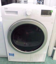 BEKO DCX93150W Condenser Tumble Dryer 9 kg Sensor drying Energy rating B White
