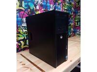🖥 i5 Quad Core Gaming PC 🖥 INTEL CORE i5-2400 - 8GB - 500GB HDD - 2GB R9 360 - Win 10 Pro