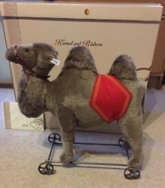 Steiff Camel BIGGEST MADE on wheels 1908 replica LIMITED EDITION BOXED 400438