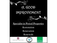 Specialist in period property repairs & restorations