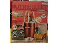 12 piece red Nutribullet