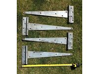 Set of four Heavy Duty Hinges 500mm