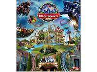 2 tickets to Alton towers friday 25th may