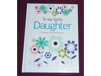 'To My Lovely Daughter' Gift Book