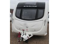 STERLING ECCLES SOLITAIRE 2011 *FIXED BED* 4 BERTH