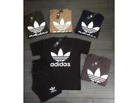 Adidas Original Shorts and Tshirt Set! Mens Brand New