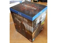 Supernatural Series 1-8 Blueray BRAND NEW NEVER WATCHED