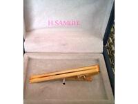 vintage h samuel boxed tie clip