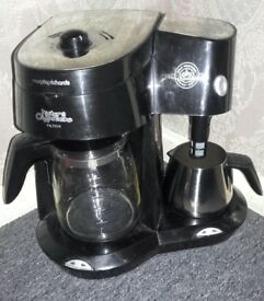 Morphy Richards coffee & cappuccino machine