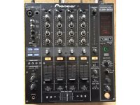 Pioneer DJM 800 Mixer With 4 x Brand New Faders & A Crossfader!