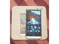 HTC M8 OP6B100 16GB Android Smartphone Silver locked to 3G
