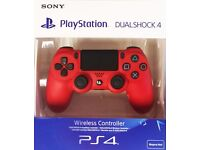 Sony dual shock 4 magma red version 2