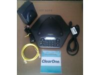 ClearOne Max Ex Conference Expandable Phone Full Complete System. Free post to UK