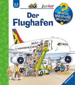 Wieso Weshalb Warum Junior Der Flughafen Ab 2-4 Jahre Ravensburger + BONUS