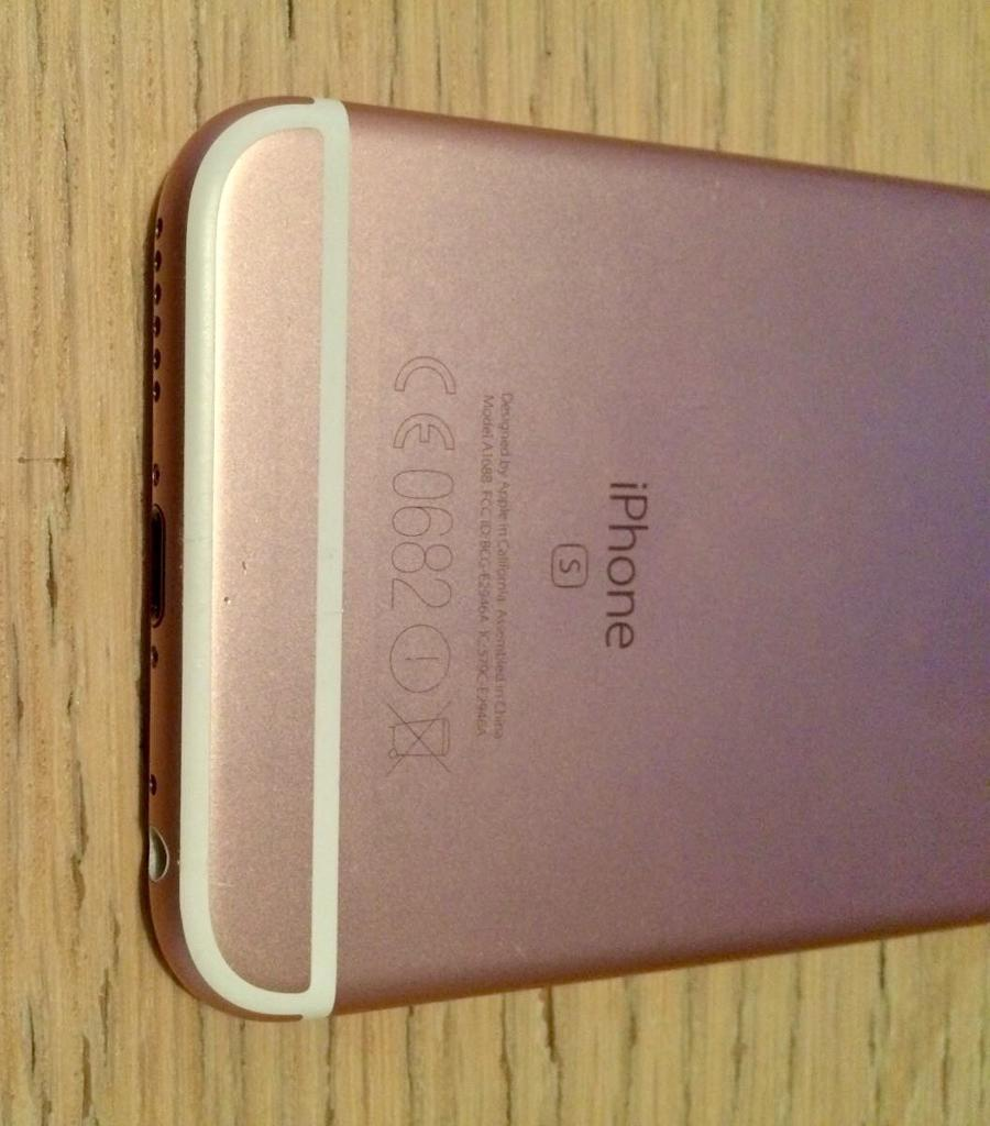 iPhone 6s 16GB rose gold- perfect condition