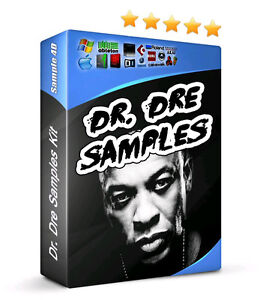 Dr. Dre Drum Samples Kit Hip Hop MPC Reason 808 Kick Snare Clap  Hats FX Sounds