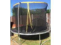 10ft trampoline - used condition