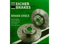 Nissan Note brake discs and pads