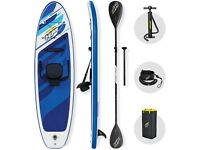 Oceana Convertible Stand Up Paddle Board set with Hand Pump