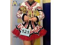 Fabulous Taylor Irish Dancing Dress Costume Age 11-14 approx