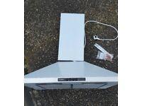 Cooker Hood Stainless Steel Bosch DWW07W45OB