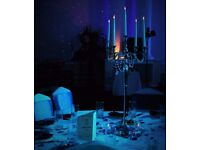 Wedding decorations, venue decorator, wedding stage, chair cover hire, plate cutlery glass hire