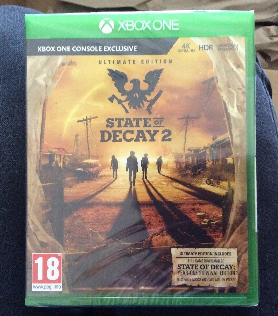 State of Decay 2 Ultimate Edition - Xbox One (BRAND NEW AND SEALED) | in  Stockport, Manchester | Gumtree